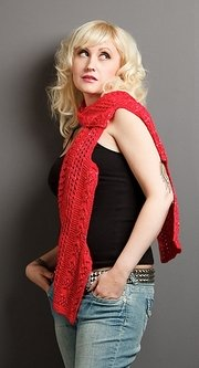 Photo by Fractured Photography. Fresh Designs: Scarves. Designed by Jill Wright